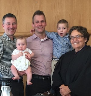 Infant Adoption Finalization with Lirhus Keckemet Annest